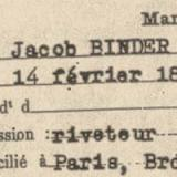 BINDER Jakob