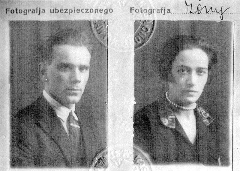 Israël et Bayla Ernst (sd, sl). Archives familiales