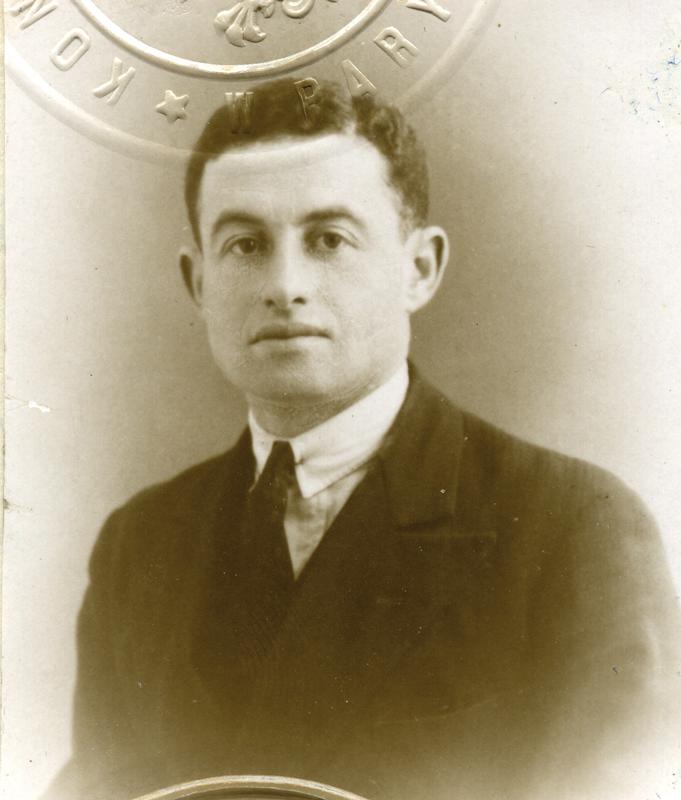 Joseph Kremenstein (1924?, sd, sl). Archives familiales