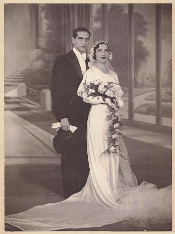 Mariage de Jacques Krysztal et Ita Lichtig (sd, sl). Archives familiales