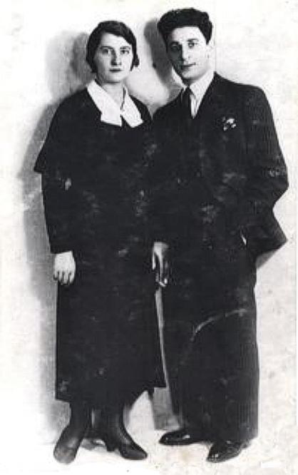 Judko Mandelcwajg et Malka Kon, son épouse (sd, sl). Archives familiales