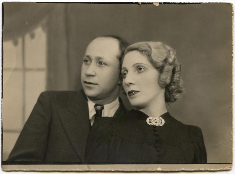Chaïm et Éva (Chawa) Marmurek (sd, sl). Archives familiales