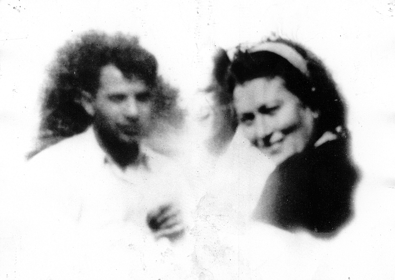 Abraham et Malka Reiman (sd, sl). Archives familiales