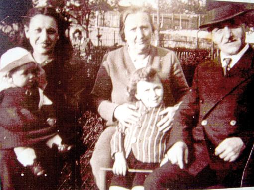 La famille Szafran (1938-1939, sl). Archives familiales