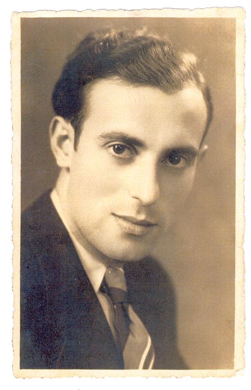 Israël Wildfogel, le 6 septembre 1939. Archives familiales