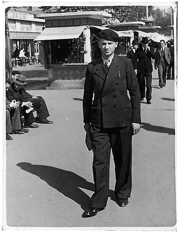 Tojwie Bezbrody à Toulouse (1939). Archives familiales