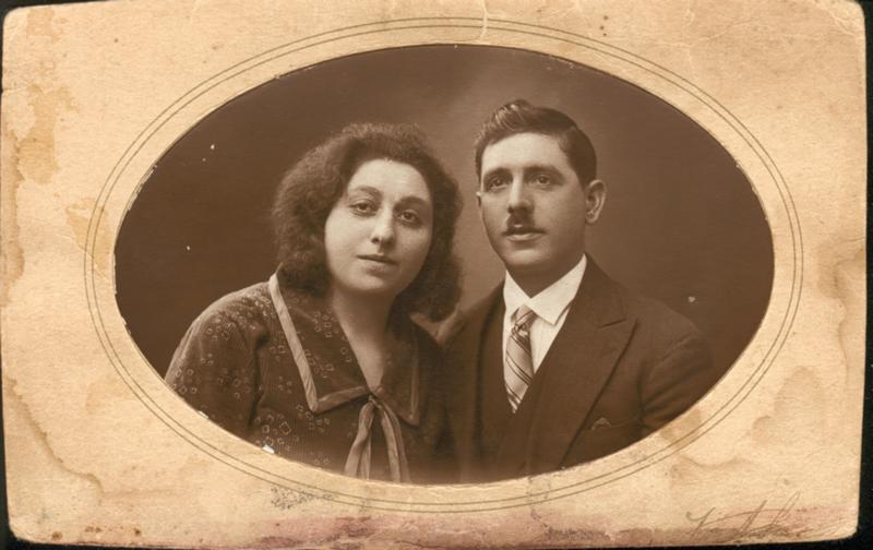 Marc Gougeon et Andrée Kahn, son épouse (sd, sl). Archives familiales