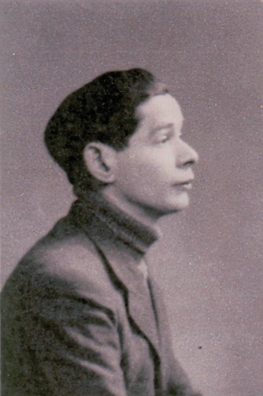 Portrait de Mordko Jedynak (sd, sl). Archives familiales