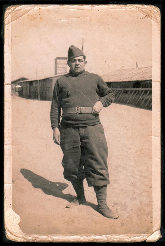 Abram Psankiewicz, engagé volontaire à Barcarès en 1940. Archives familiales