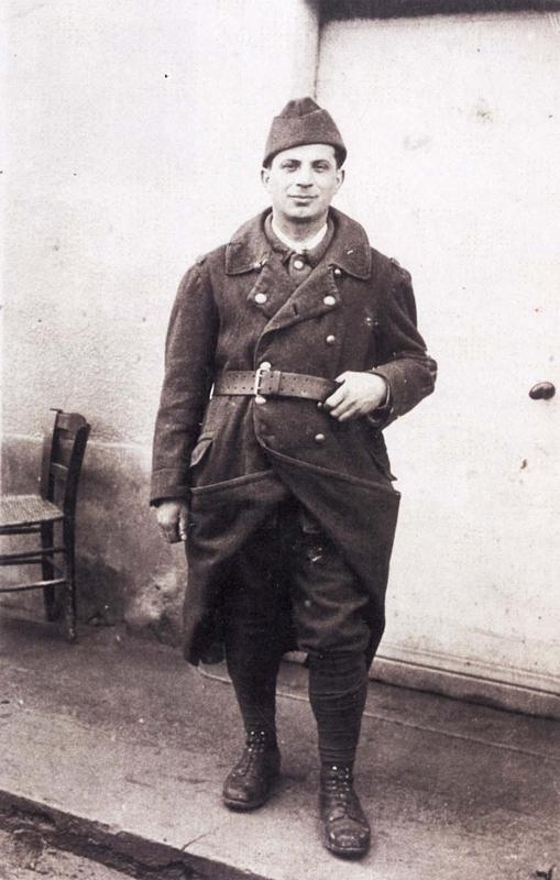Abraham Reiman, engagé volontaire à Barcarès en 1940. Archives familiales