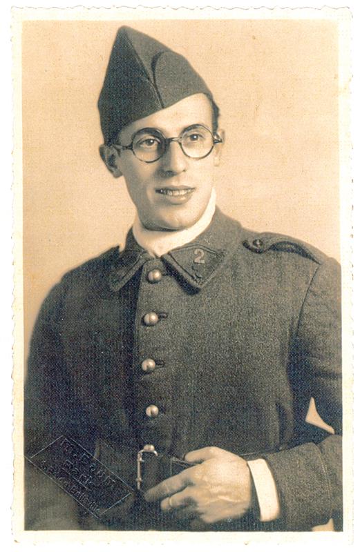 Israël Wildfogel, engagé volontaire (1939, sl). Archives familiales