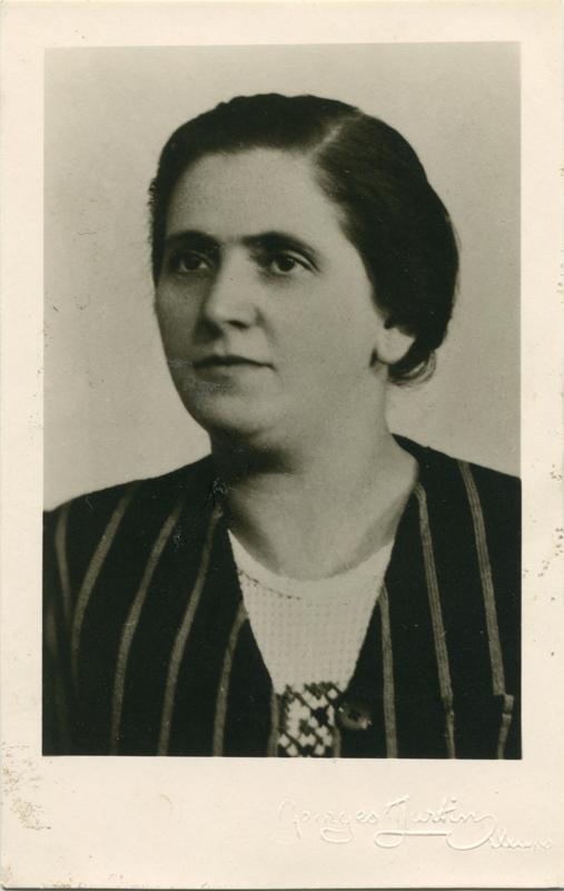 Sarah Borowski (sd). Archives familiales.