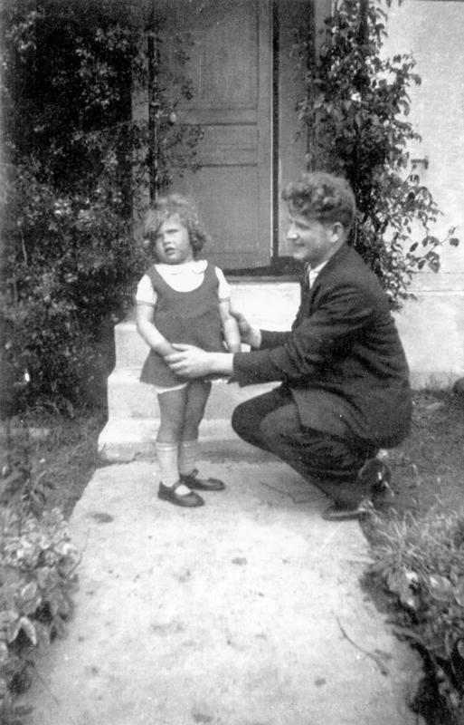 Zygmunt (Szmul) Jungchauz et sa fille Berthe (sd, sl). Archives familiales