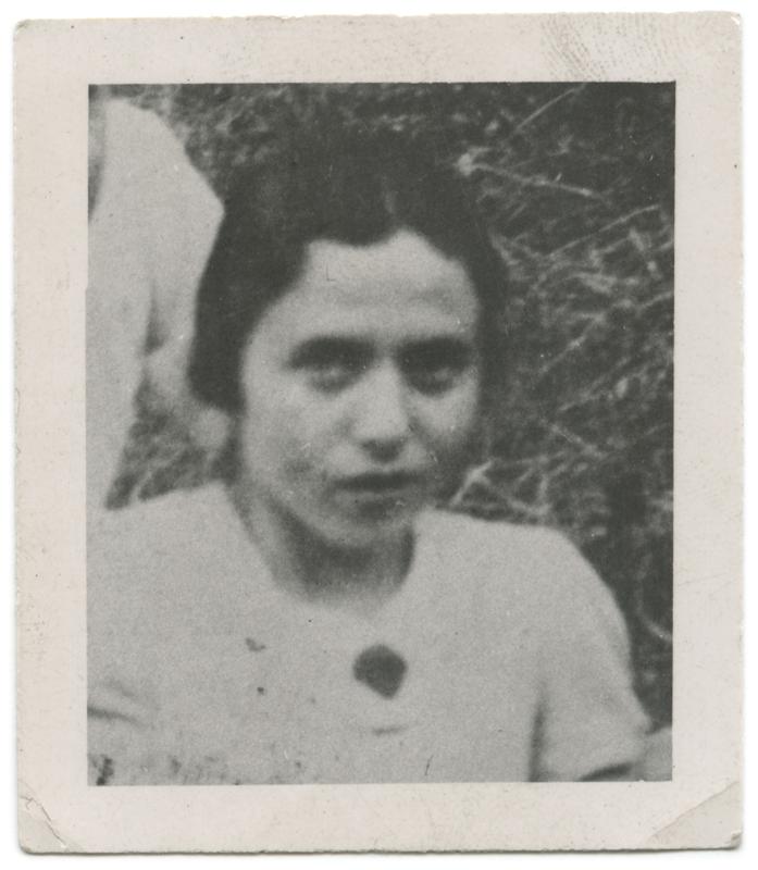 Rosa (Ruchla) Dymetman (sd, sl). Archives familiales