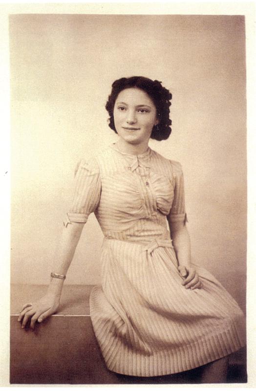Jeanine Stickgold (1940, sl). Archives familiales