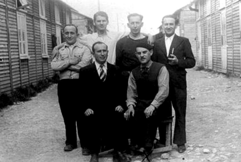 Hercyk Anger au camp de Beaune-la-Rolande (entre mai 1941 et juillet 1942, sd). Archives familiales