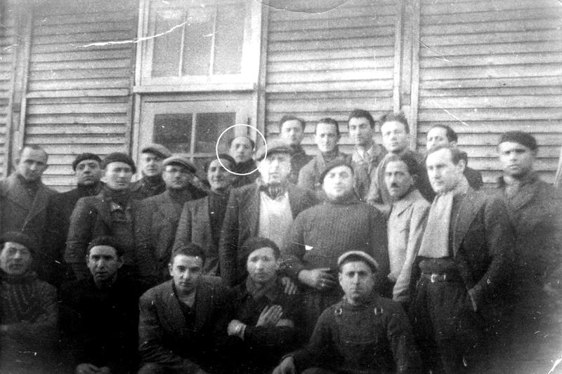 Au camp de Pithiviers (entre mai 1941 et juin 1942, sd). Archives familiales