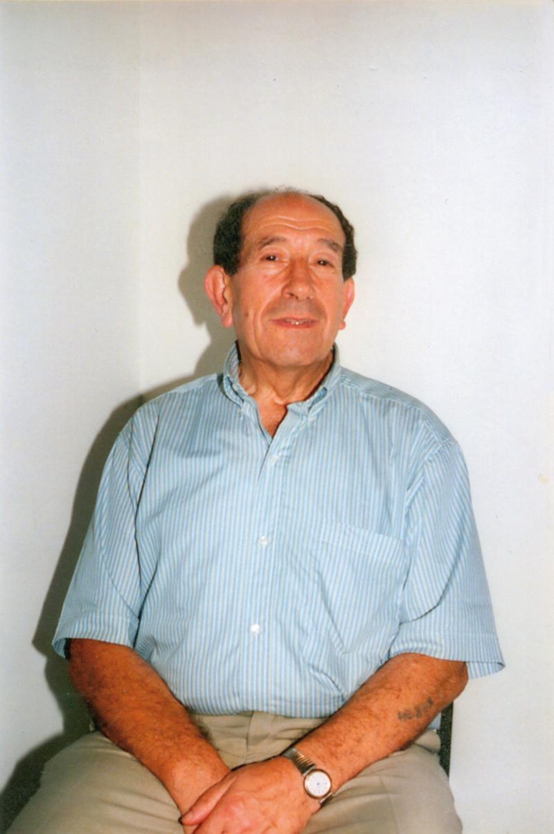 Zelman Brajer en 2001 (sl). Archives familiales