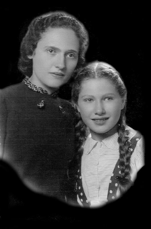 Sarah Jungchauz et sa fille Berthe (sd, sl). Archives familiales