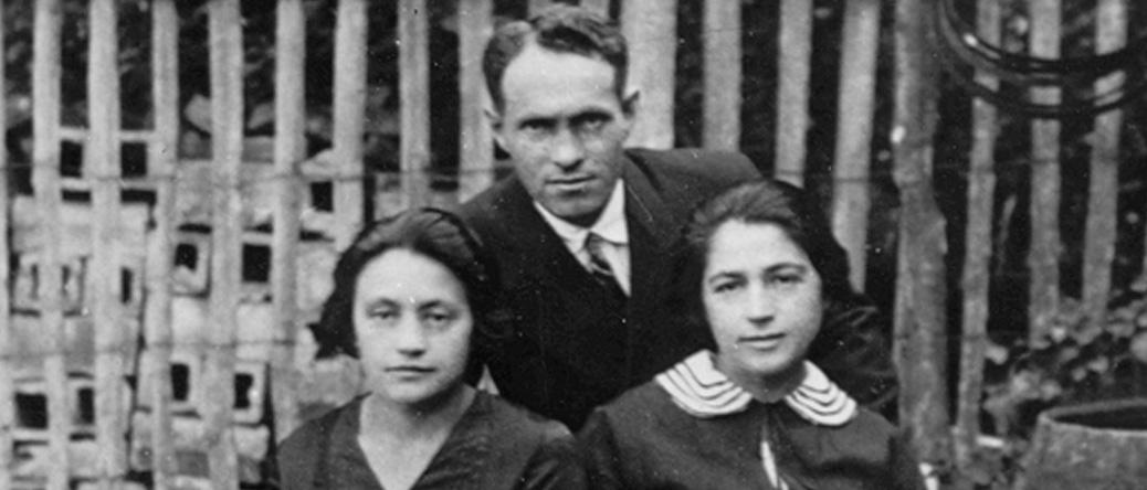 Jacob Levinsky, avec son épouse Léa, à gauche (sd, sl). Archives familiales