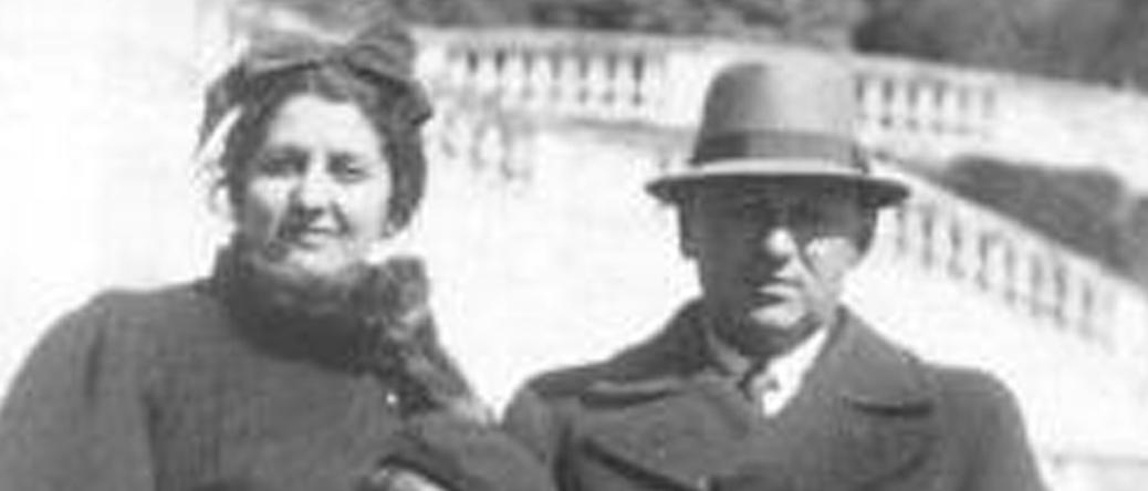 Henoch Adamsbaum et son épouse Lisa. Archives familiales
