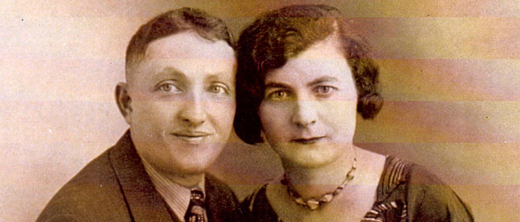 Chaïm Grosman et sa sœur à Paris (à partir de 1926, sd). Archives familiales
