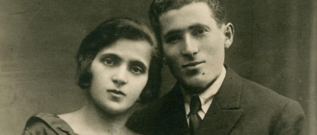 Judel et Sarah Borowski (sd). Archives familiales