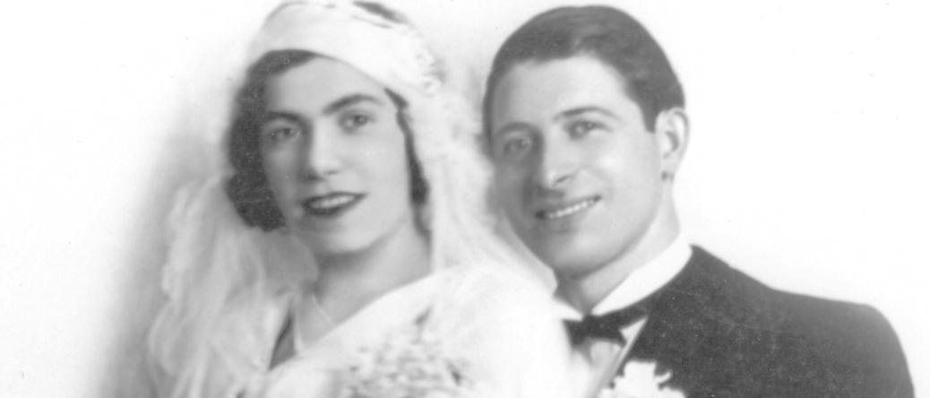 Leib et Bella Kajman (sd, sl). Archives familiales