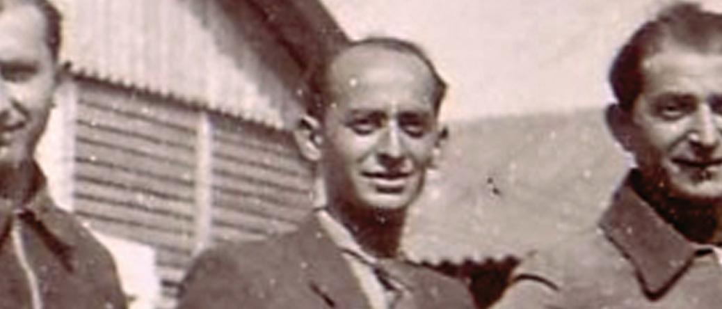 Yankel Michalowicz au camp de Beaune-la-Rolande (entre mai 1941 et juin 1942, sd). Archives familiales