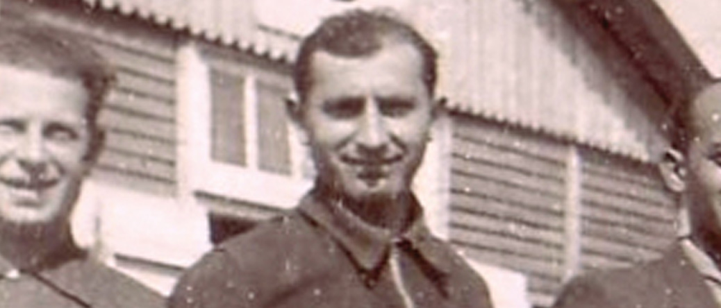Moische Sztal au camp de Beaune-la-Rolande (entre mai 1941 et juin 1942, sd). Archives familiales