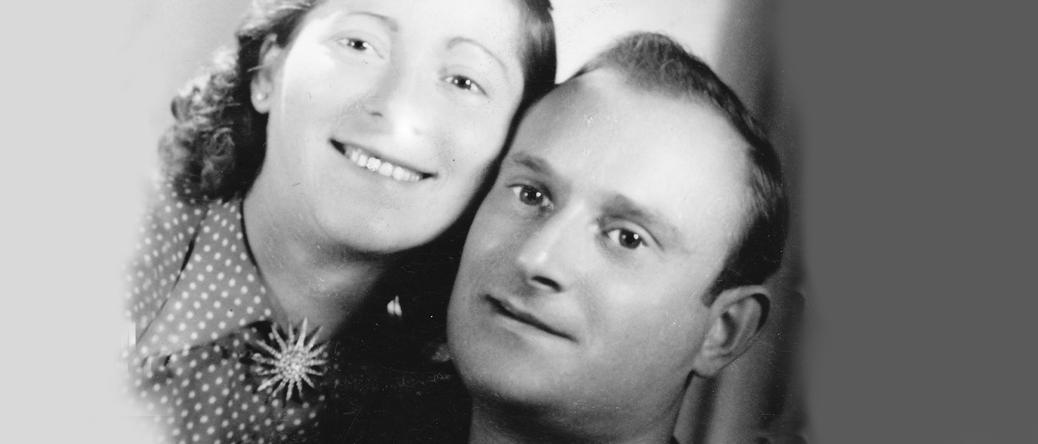 Isaac-David Zelazneg et son épouse (sd, sl). Archives familiales