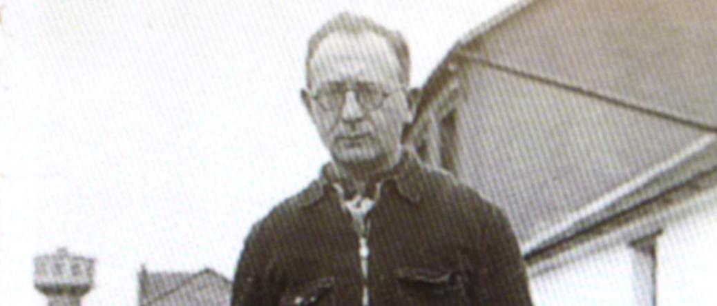 Israël Wartski au camp de Pithiviers (23 décembre 1942). Archives familiales