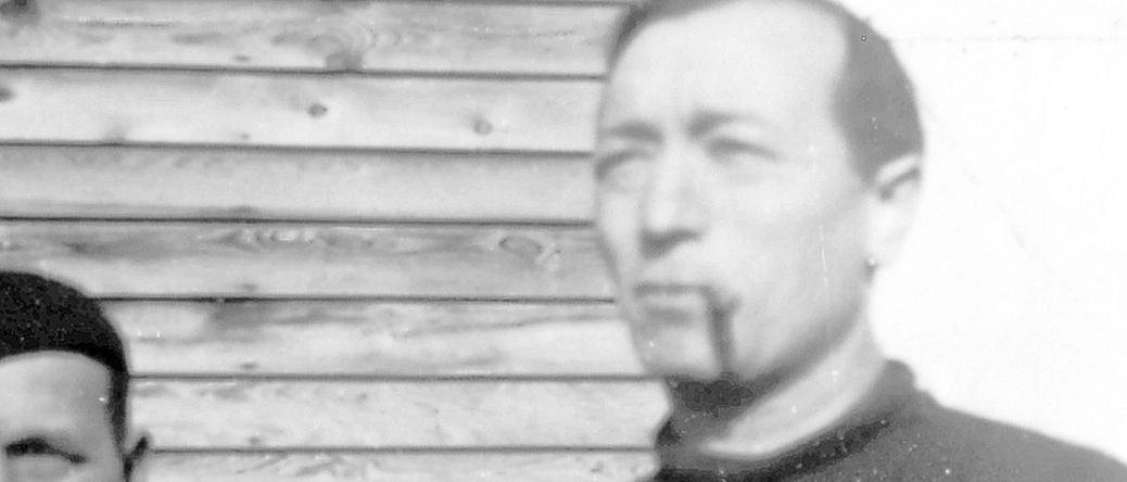 Paul Waitzman au camp de Pithiviers (entre septembre 1941 et juin 1942, sd). Archives familiales