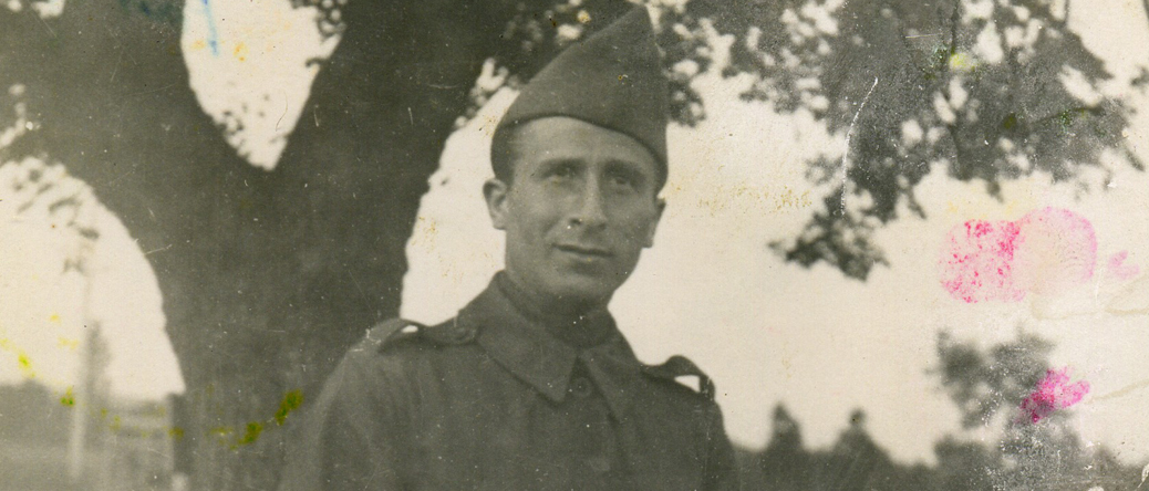 Pinkas Kaliksztajn, engagé volontaire, incorporé à Septfonds (entre le 9 mai 1940 et le 12 septembre 1940). Archives familiales