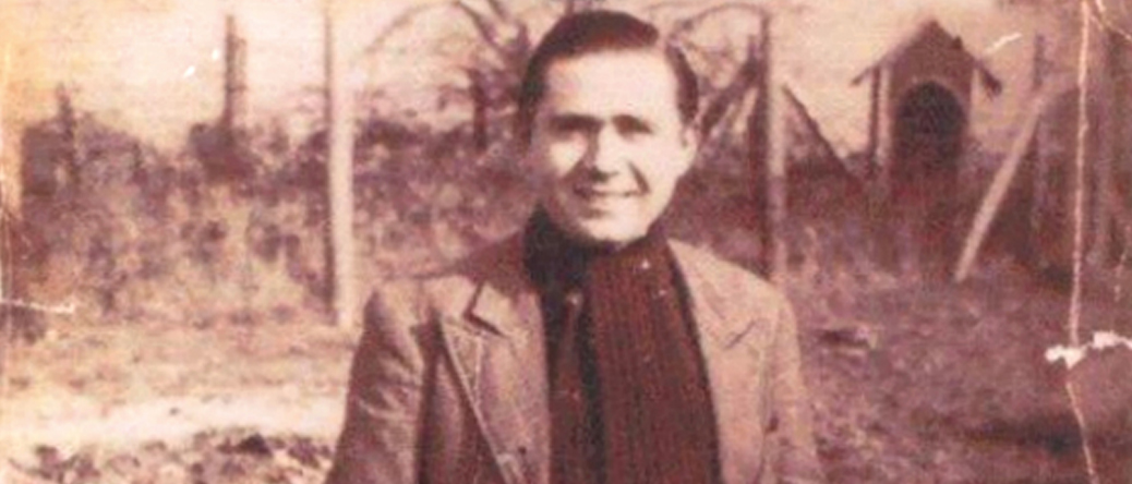 Jankiel Hochberg au camp de Beaune-la-Rolande (1941, sd). Archives familiales