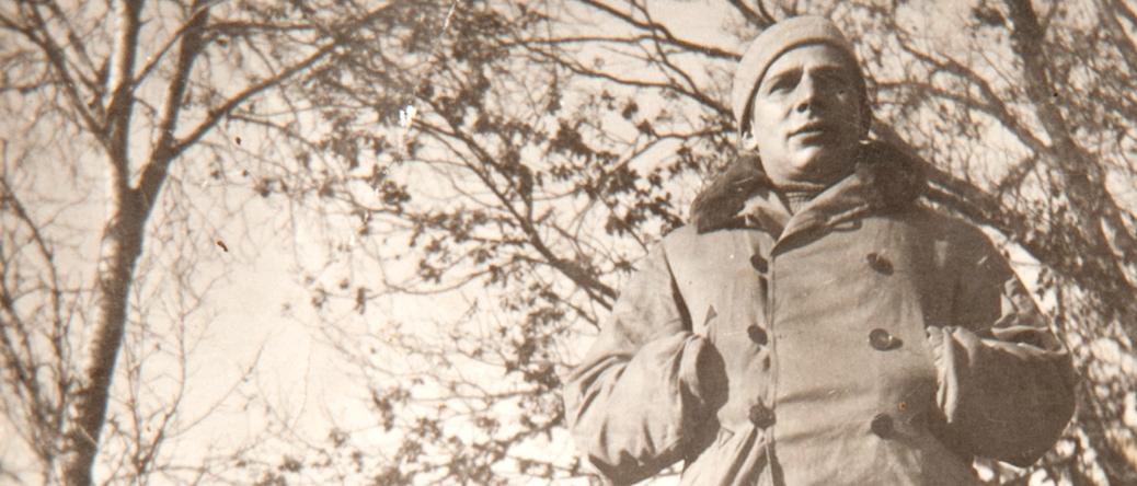 Abraham Kantorowicz à la ferme de la Matelotte (15 janvier 1942). Mémorial de la Shoah/Coll. Serge Kantorowicz