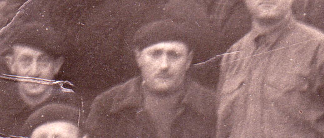Szel Dawid au camp de Beaune-la-Rolande (novembre 1941). Archives familiales
