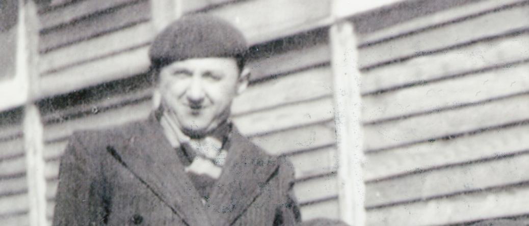 Szloma Gorfinkel au camp de Pithiviers (entre mai 1941 et juin 1942, sd). Archives familiales