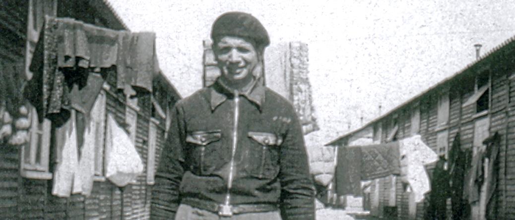 Moszek Jakobowicz au camp de Beaune-la-Rolande (7 mai 1942). Archives familiales