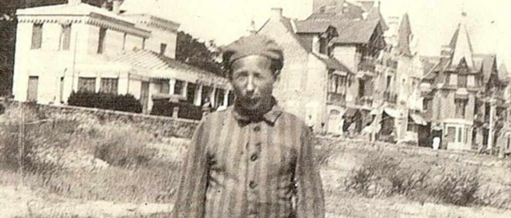 Pinches-Moszek Szabmacher à son retour de déportation (sd, sl). Archives familiales
