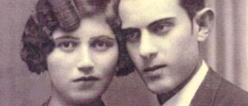 Hercyk Anger et sa femme Sonia (Surah Hesa) (sd). « Ils sont si beaux, ils semblent si amoureux sur cette photo ». Archives familiales